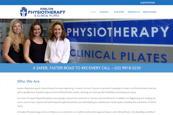 Avalon Physiotherapy & Clinical Pilates