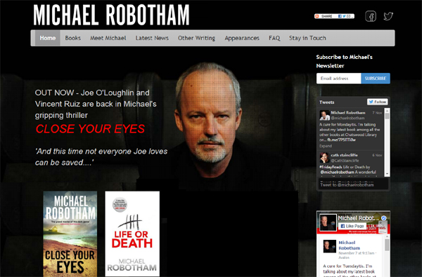 Michael Robotham Author