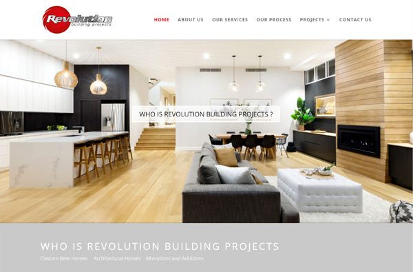 Revolution Building Projects