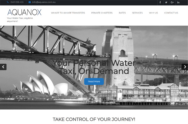 Aquanox Water Taxis