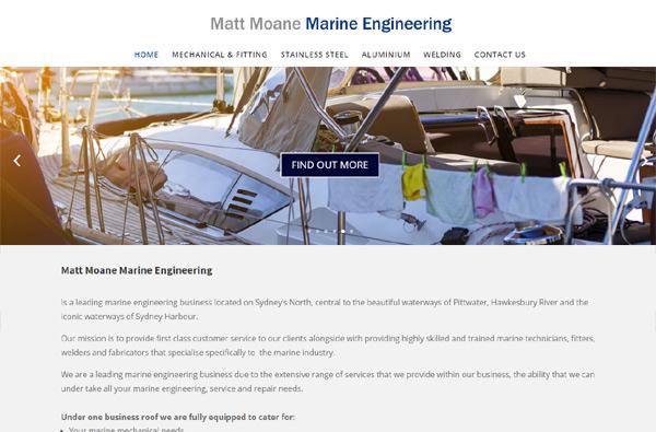 Matt Moane Marine Engineering