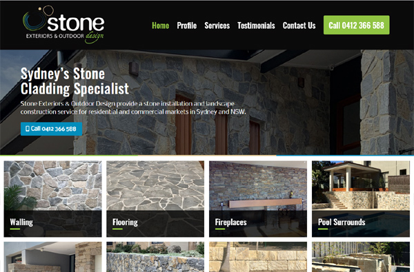 Stone Exteriors and Outdoor Design