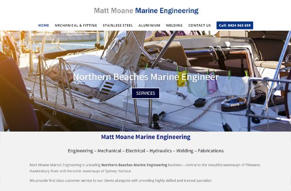 Northern Beaches Marine Engineer